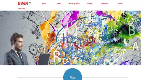 Witamy na stronie internetowej firmy EWIR
